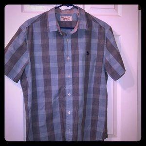 Original Penguin short sleeve button down shirt
